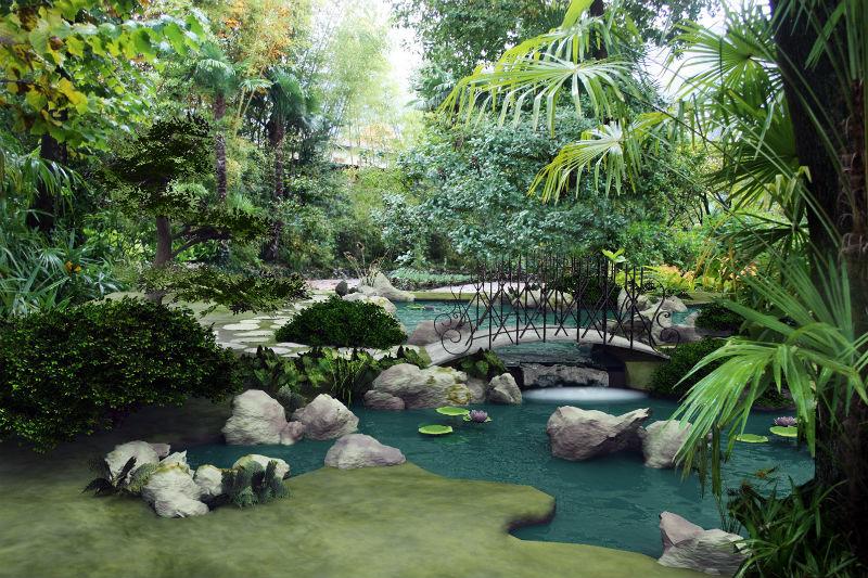 Progettazione giardini milano e provincia for Giardini giapponesi milano